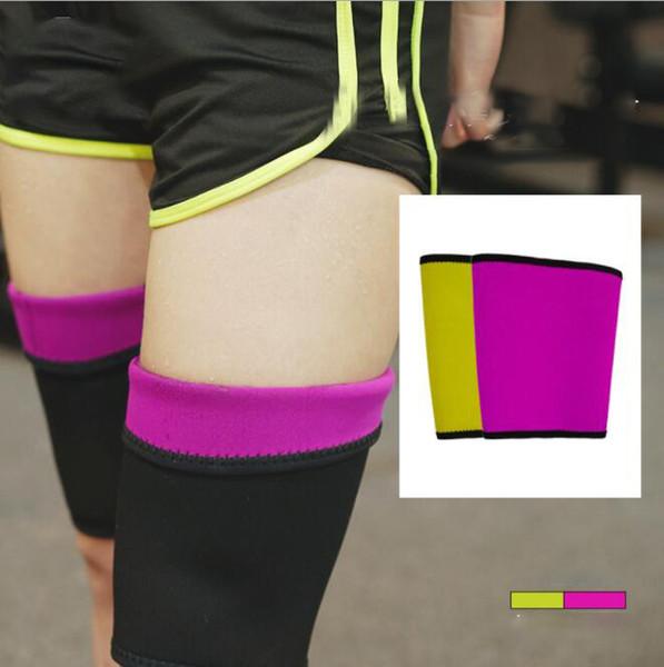 Legs Shapers Hot Body Shaper Womens Shapewear Slimming Thigh Belt Weight Loss Hot Leg Sleeves KKA6423