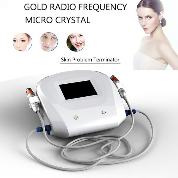 Newest thermage ultrasound skin care equipment rf microneedle mole remover device fractional rf microneedle machine no needle mesotherapy