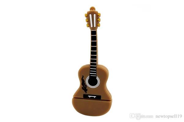 Top sell Cartoon usb 2.0 Musical instrument piano guitar note violin 64GB USB flash drive pen drive 4GB 8GB 16GB 32GB U disk