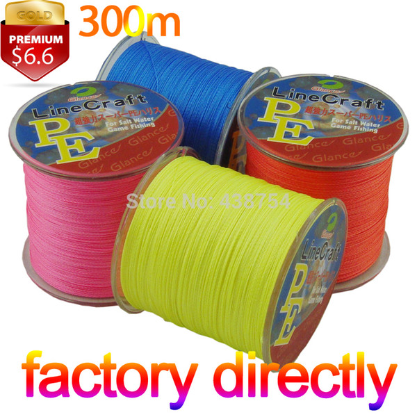 braided SUPER STRONG Japanese100% PE Spectra Braided line 300m leader line Multifilament Fishing lines 40 80lb100lb