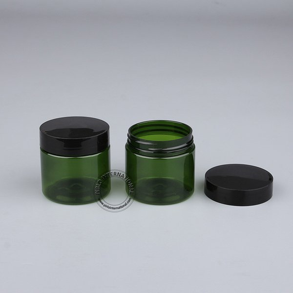 Free Shipping 30pcs 50g Empty Plastic Jars With Lid Cosmetic Packaging Makeup Bottles Pot For Facial Mask Hand Cream Containers