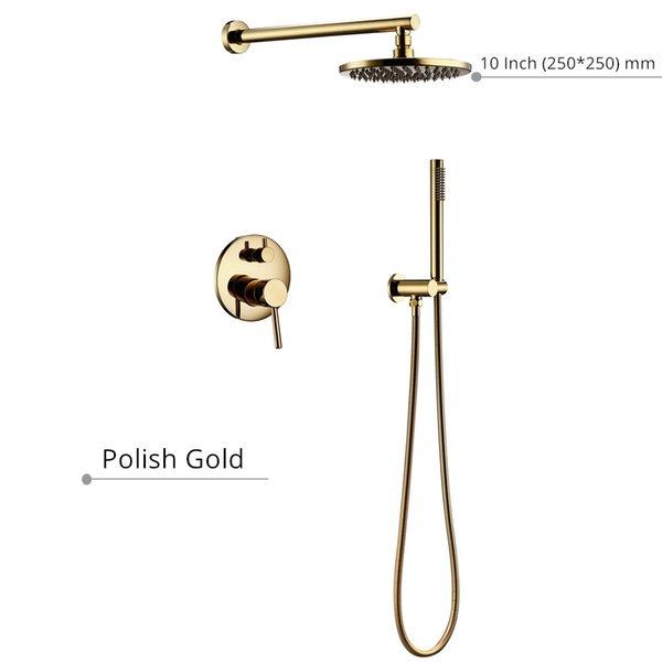 ouro polonês de 10 polegadas