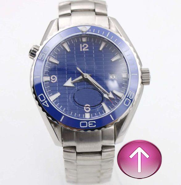 N9-moda popular moda de luxo movimento automático mar azul linda banda maravilhosa qualidade de luxo homens assistir