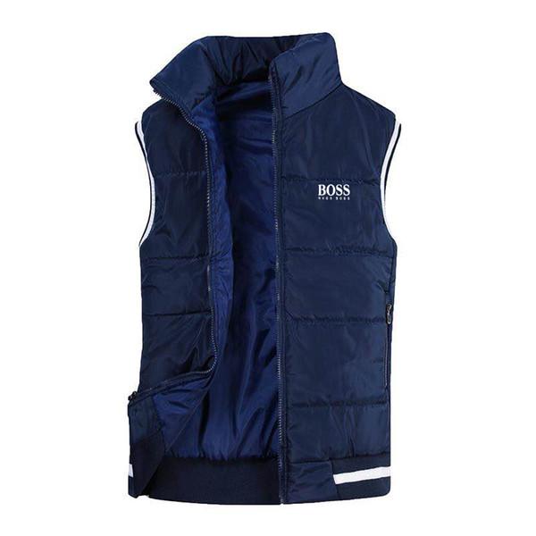 Vest Men New Stylish Autumn Winter Warm Sleeveless Jacket Waistcoat Men's Vest Fashion Casual Coats Mens Windproof Jackets