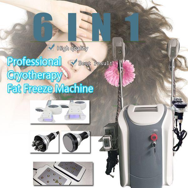best selling 2019 Cryolipolysis Slimming Machine Vacuum Therapy Machine lipo laser Machines Cavitation Slimming RF Skin Tightening Machine