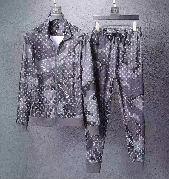 Hiver Automne Marque Designers Sweatshirt De Mode Monogram jogging Costumes Mens Long Sleeve Survêtements De Course Sweats Casual Sweats À Capuche