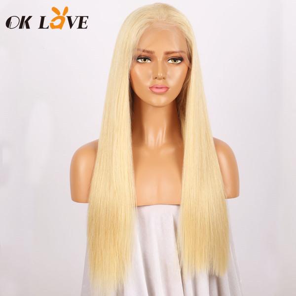Parrucca umana piena del merletto 613 # con i capelli del bambino ha spillato le parrucche frontali dei capelli umani di Ombre Blonde del pizzo di Remy dei capelli