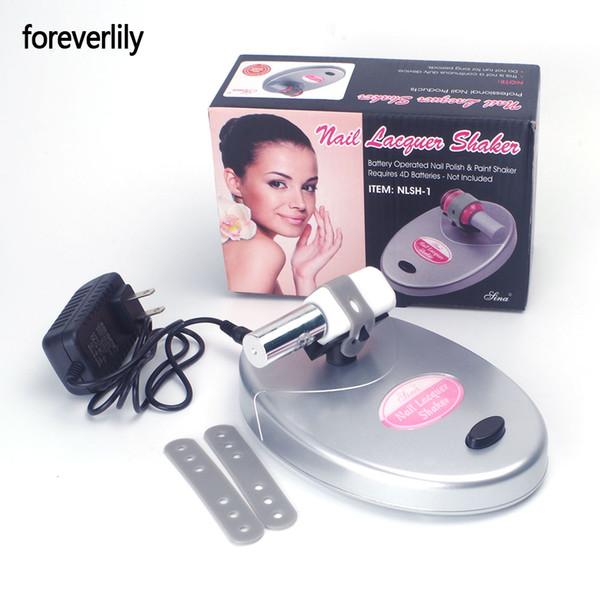 foreverlily Nail Lacquer Shaker Adjustable Nail Gel Polish Varnish Bottle Shaking Machine Shake Evenly Tools for Art Tattoo
