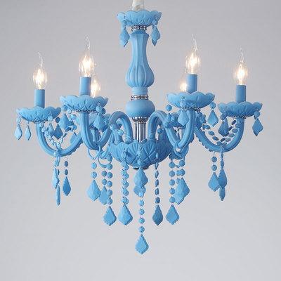 Mavi 6 ışıkları