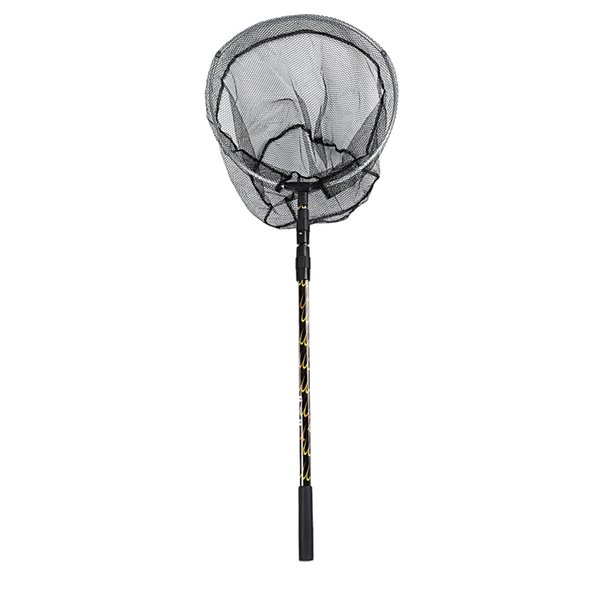 TOP! -170cm einziehbare Teleskop Aluminiumlegierung faltbare Angeln Brail Kescher Pole Tackle