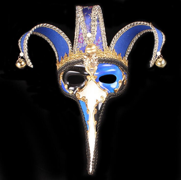 Хэллоуин Маска Маскарад длинный нос творческая Маска колокол высокого класса партия маски кружева Рождество великолепная элегантность новые горячие подарки