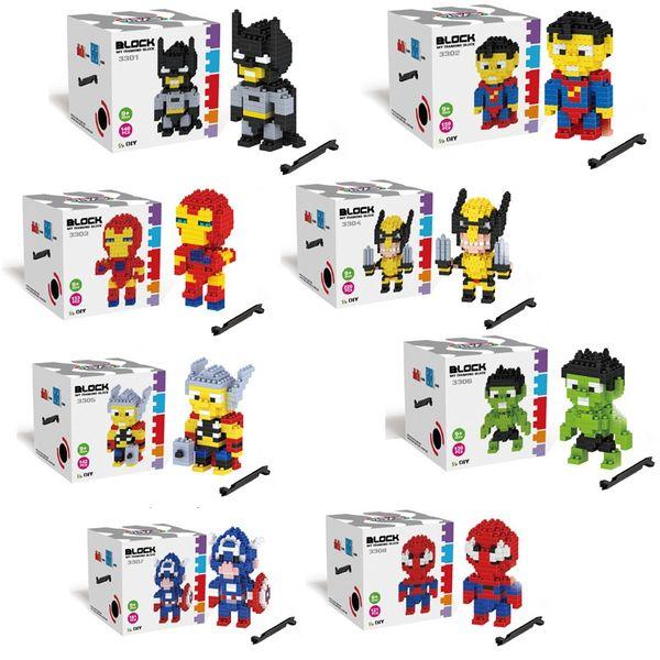 INS Cute Cartoon Decoration Alomic Building Blocks Bricks Childrens Kids Learning Education Puzzle blocks Toys k053