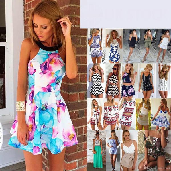 UK Womens Mini Playsuit Ladies Jumpsuit Summer Beach Holiday Dress Size 6-14