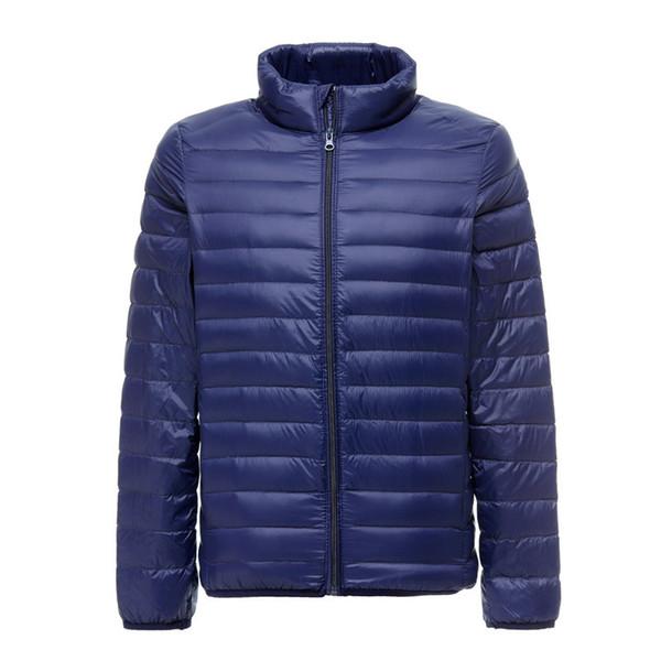 90% White Duck Down Jacket 2019 New Ultralight Men Winter Duck Down Coat Outwear Parkas Waterproof Overcoat Puls Size S-5XL
