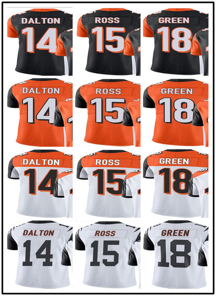 brand new 37705 a5702 2019 Custom Cincinnati Bengals Jerseys#14 Andy Dalton 15 John Ross 18 A.J.  Green #YOUTH#Men'S Limited Rugby Jerseys From Gjybest002, $18.1 | ...