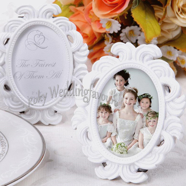 10PCS Baroque Photo Frame Place Card Holder Wedding Favors Bridal Shower Event Party Reception Table Decors Birthday Gifts