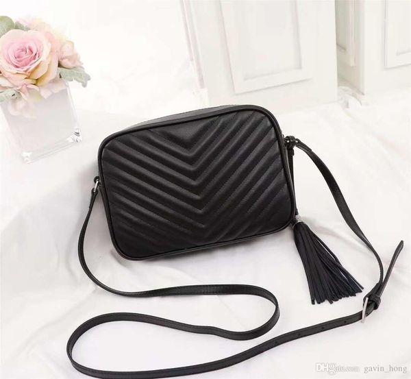 Мода Городских женщин сумка кожа коровы из натуральной кожи высокого качества роскоши дизайнер мешок плеча новой кисточка сумка