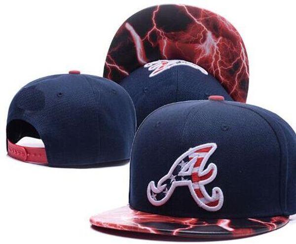 2020 Sport Braves hat A logo cap Men snapbacks Women Adjustable Cap Hat All Team Snapback gorras sun casquette Accept mix order 00