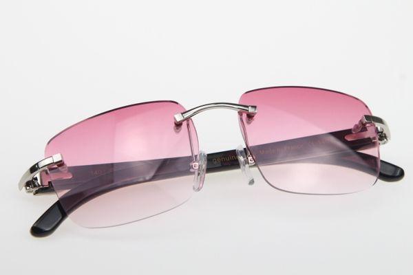 Silberne rosa Linse