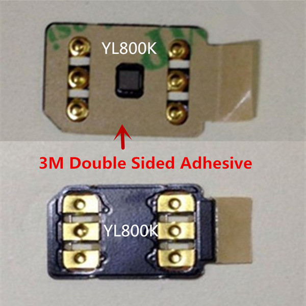 DHL libero 3M Double Sided carta adesiva ONESIM sblocco automatico pop-up menu per iPhone 6 7 8 6S X XS XR XSMAX Gevey