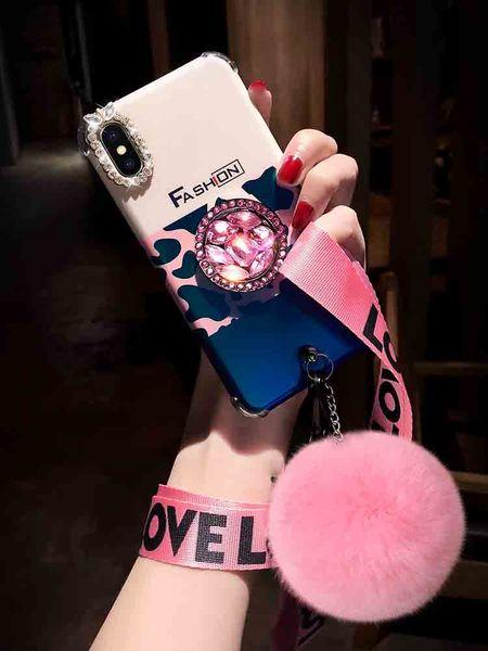Yeni Moda Telefon Kılıfı için IphoneXSMAX XR XS 7 Artı / 8 Artı 7/8 6 s / 6sp6 / 6 s Leopar Baskı Koruyucu Arka Kapak Telefon Kılıfı 2 Stilleri