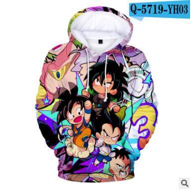 Brawley Dragon Ball Super Broly3D Kapuzenvlies Herren Hoodies Cartoon Jungen Mantel Herrenbekleidung Versandkostenfrei