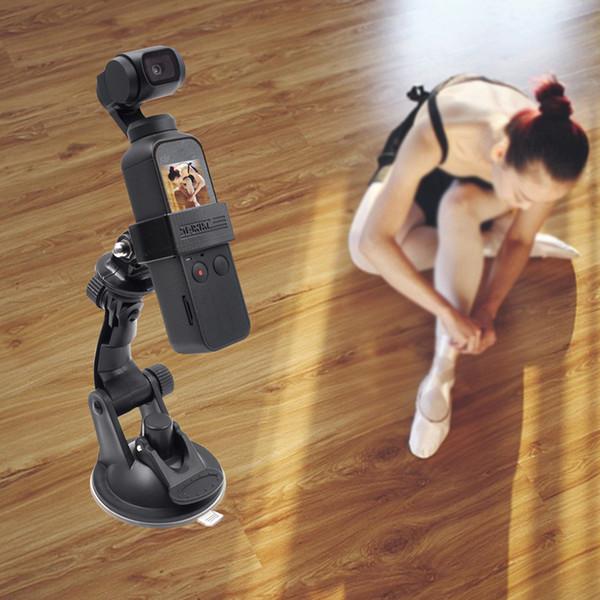 DJI OSMO cámara deportiva OSMO acción Ventosa de vidrio de bolsillo ventosa para automóvil soporte de fijación accesorios de expansión