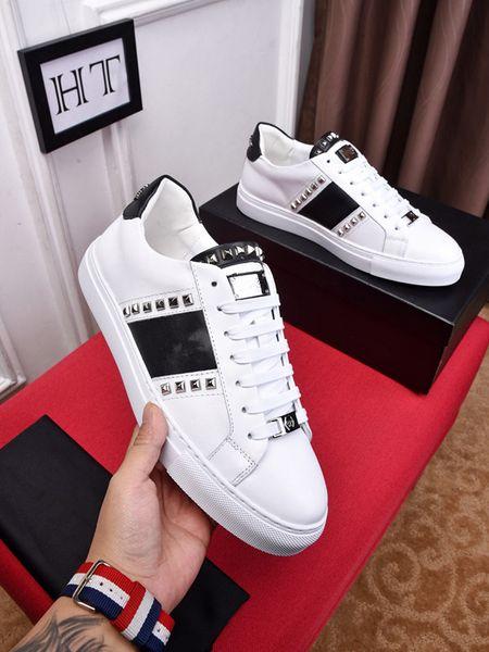 Homens Sapatos Casuais Moda Designer De Luxo SneakersReflective o aumento do amante de couro genuíno ht19012802