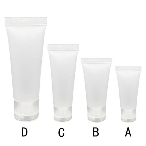Tubos vacíos Crema cosmética Recipientes de loción de viaje Brillo de labios BottleTravel dispenser pequeña capacidad para llevar el frasco de perfume