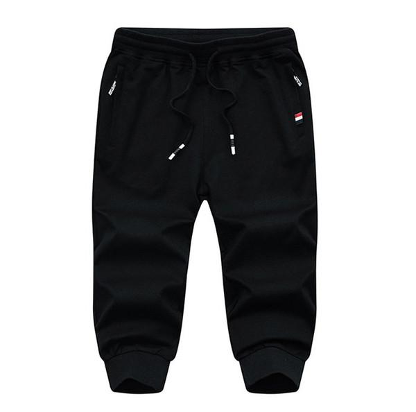 2019 Free hot sale Mens Casual capri pants cargos shorts /Mens sport shorts /mens Middle pants