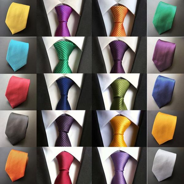 Hot Paisley Stripe Blue Silver Pink JACQUARD WOVEN 100/% Silk Men/'s Tie Necktie