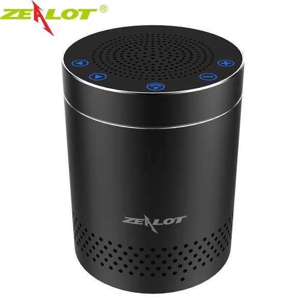 ZEALOT S15 Bluetooth Speakers Touch Control HiFi Stereo 3D Surround Sound Speaker for Party and Outdoor Portable Subwoofer