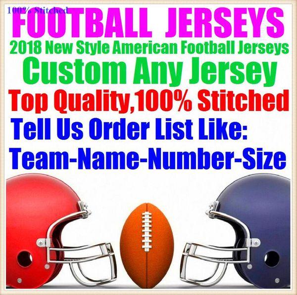 Все сшитые на заказ трикотажные изделия американского футбола New Orleans team колледж аутентичные дешевые бейсбол баскетбол хоккей джерси 4xl 6xl 8xl мужские
