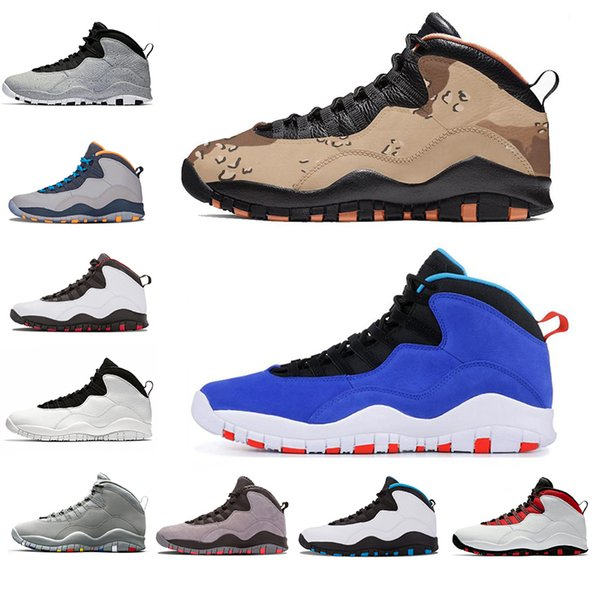 Drop Shipping Desert Camo Tinker 10 10s Basketball Shoes 2019 Westbrook Cement Designer Shoe Men Cool Grey Fusion Red Mens Sports Sneakers