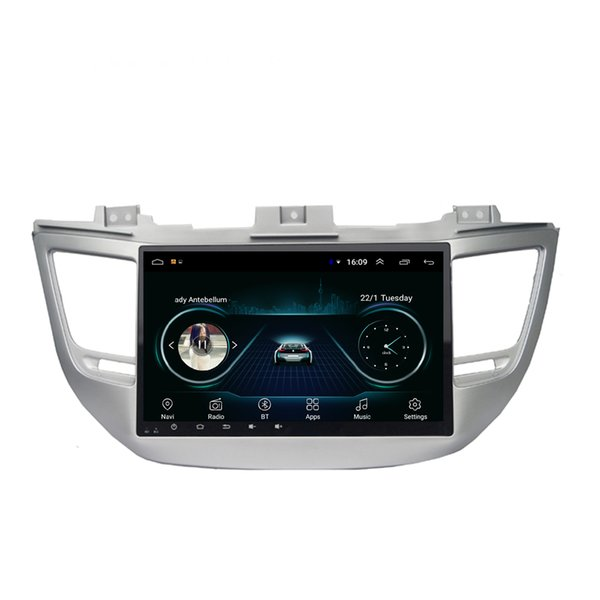 Android car GPS navigation map front camera fast delivery HD1080 display Resolution 1024 * 600 USB for Hyundai tucson 2016-2018 10.1inch