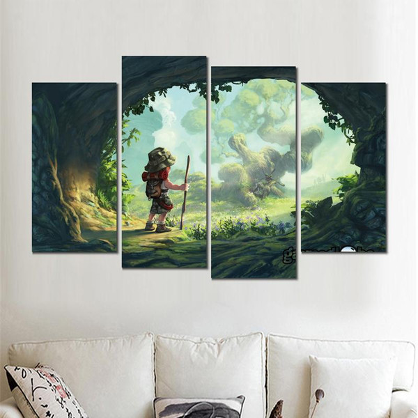 4 jeux affiche moderne gameglobe jeu impressions sur toile wall art no frame for decor