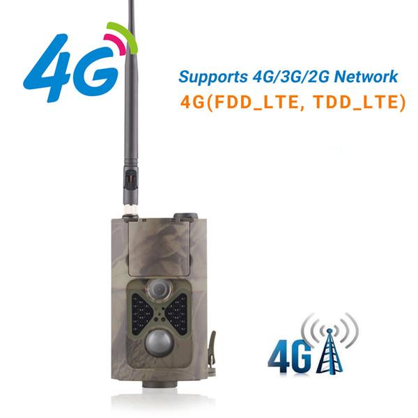 4G Caza de la cámara GPS FTP Sendero de la cámara Correo electrónico con 4G Caza Soporte de cámara de fauna silvestre MMS GPRS GSM Trampas de fotos 4G Visión nocturna