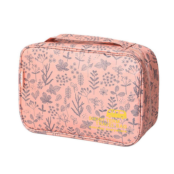 hooks cosmetic bag hairdressers portable travel organizer men ladies cosmetics cosmetic bag waterproof wash bags h40