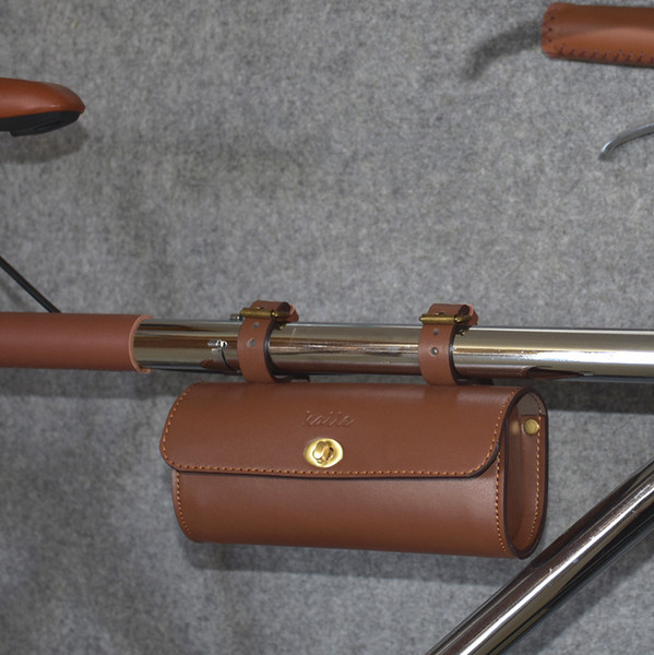 SCEGLI Borsa da bici classica Borsa da sella da bici in pelle artificiale retrò Borsa da bici per ciclismo