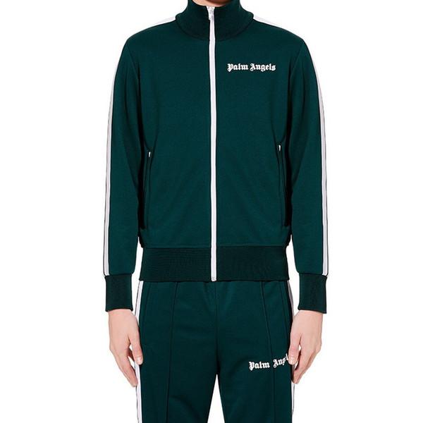 2019 nuovo Palm Angeli Tuta Uomini Donne progettista dell'annata giacca sportiva Sweatsuit strisce + pantaloni sportivi jogging Tuta B100312K
