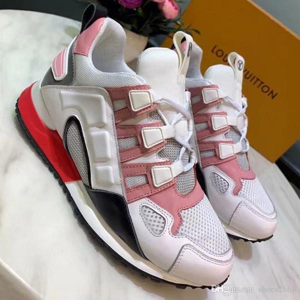 Nuevo diseñador de moda de lujo zapatos casuales Zapatos gruesos antideslizantes resistentes al desgaste Zapatillas para correr Incremento oculto 5A calidad nb: 93-2