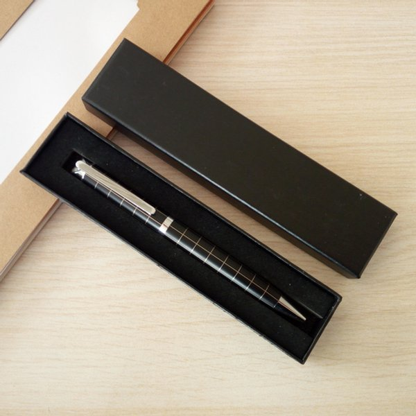 best selling Pen set Metal ballpoint pen with paper pen box School office stationery Business promotion gifts DL_PST009