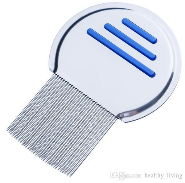 2019 Stainless Steel Terminator Lice Comb Nit Free Kids Hair Rid Headlice Super Density Teeth Remove Nits Comb