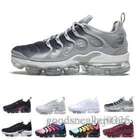 Acheter Nike Air Vapormax Vapor Max Tn New Plus TNs Hommes Hyperspace Chaussures TN Femmes Pas Cher Argenté Bullet Noir Rouge Jaune Designer Hommes