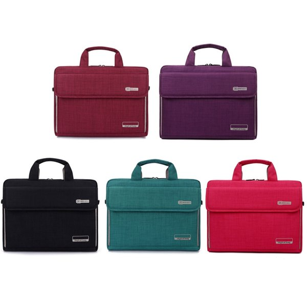 Unisex 6 Colors Big Capacity Nylon 13.3 14 15.6 Inch Laptop Bag Notebook Protective Case Cover Computer Bags