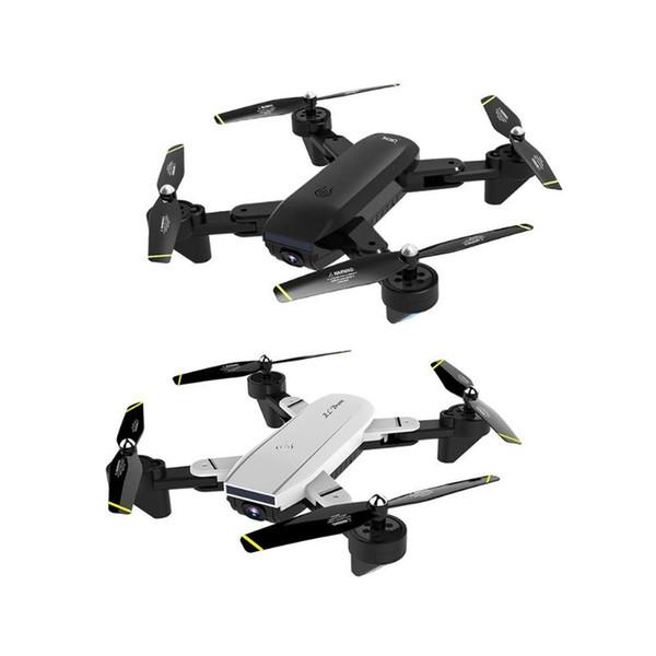 SG700-D Drone 2.4 Ghz 4CH Geniş açılı WiFi 720 P Optik Akış Çift Kamera RC Helikopter Quadcopter Özçekim Drone