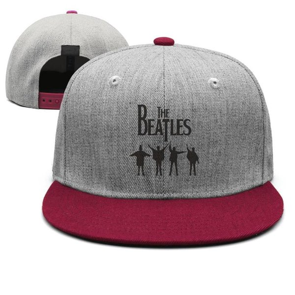Chapeaux de camionneur de marque pour hommes et femmes The White Album des Beatles Hey, chapeaux de Snapback Hip Hop à bordures plates