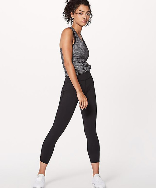 ZXL076 train age 7/8 international big hips nine points mesh training stretch yoga pants fashion trousers women tight yoga