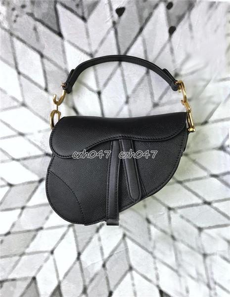 Bolso de mujer bolso de venta caliente mujer honda negro femenino Moda Hit Color Hombro Messenger Satchel Tote Crossbody Bag