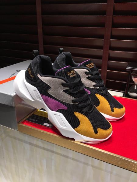 2019м новая мужская повседневная спортивная обувь, черный воин высокого качества на заказ бренд мужская обувь, полный комплект поставки оригинальной обуви